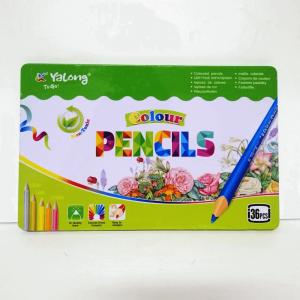 caja de lápices de colores 36 piezas