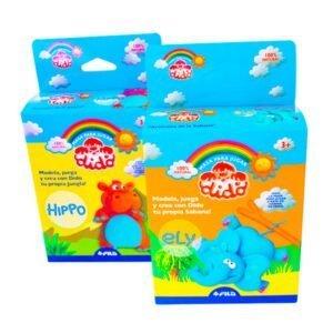 gotticlub-Escolar-Masa-jugar-Set-Dido-Minibox-Masa-jugar-Zoologico-12-Modelos-Coleccionables